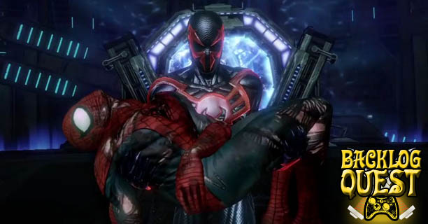 backlog quest day 4 � spiderman edge of time � on the
